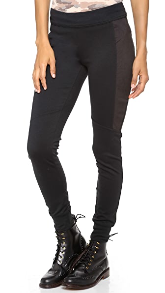 Free People Moleskin Knit Leggings