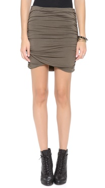 Free People Essential Scrunch Miniskirt