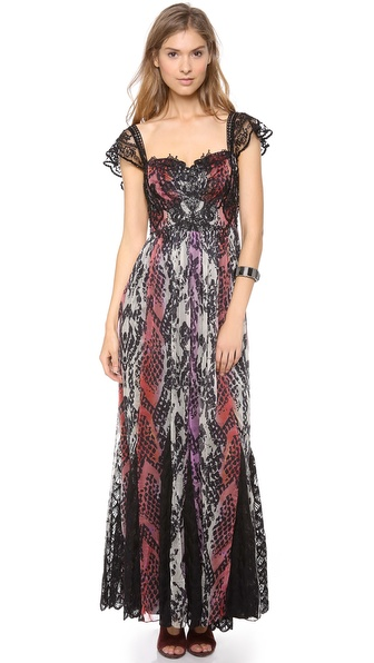 Free People Wild Hearts Maxi Dress