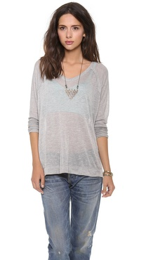Free People Owl Eyes Sweater