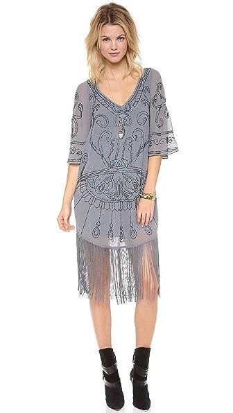 Free People Livin' the Fringe Life Dress