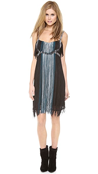 Free People Deco Fringe Dress