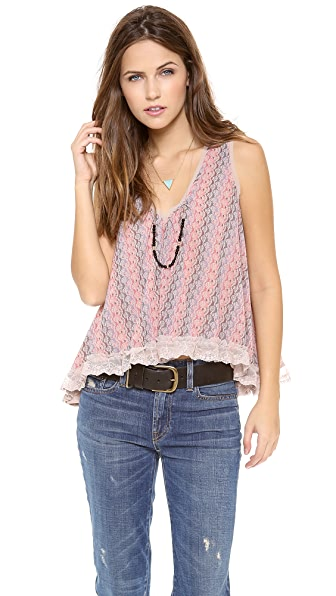 Free People Flutter Fly Top