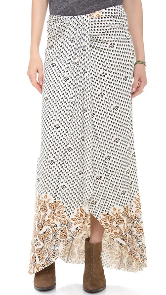 Free People Column Skirt