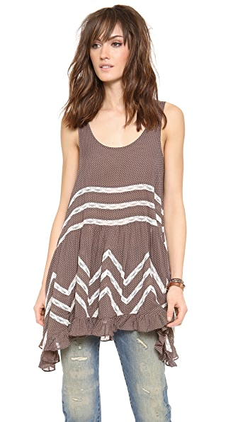 Free People Voile Trapeze Top