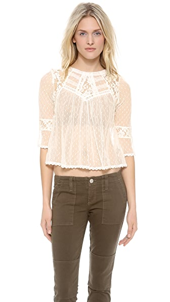 Free People Modern Romance Top