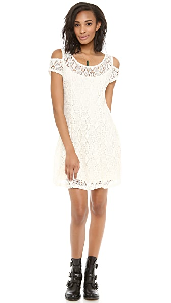 Free People Kiss the Sun Off the Shoulder Dress