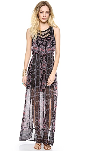 Free People Moroccan Printed Maxi Dress