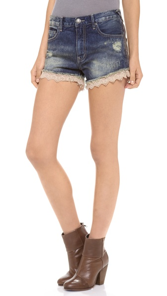Free People Lacey Cut Off Shorts