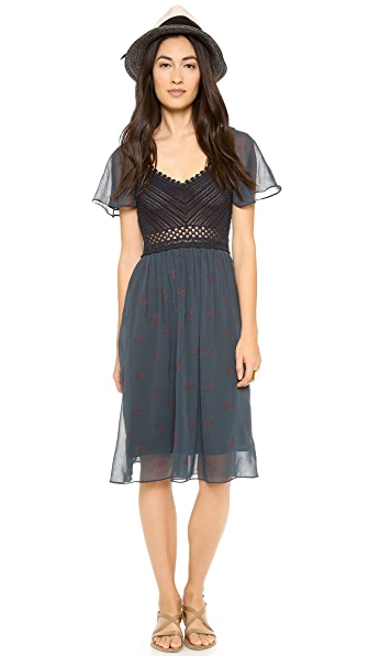 Free People Wildflowers Midi Dress
