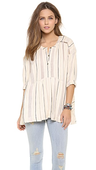 Free People Stitched Up Sally Top