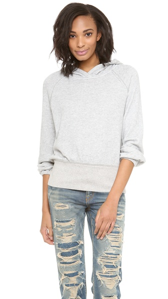 Free People Lone Ranger Banded Bottom Hoodie