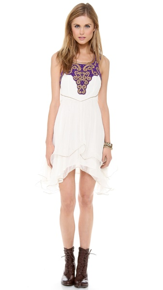Free People Fantasy Fit & Flare Dress