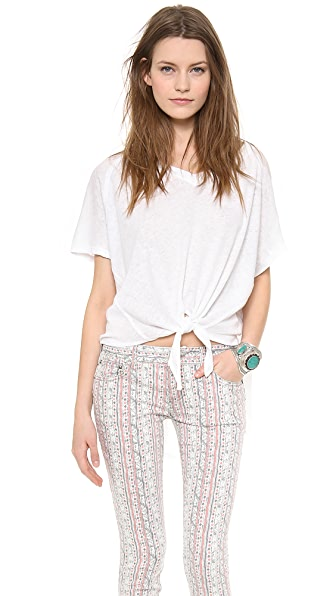 Free People Run a Round Tee