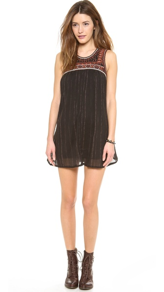 Free People Bib Dress