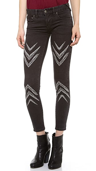 Free People Dotted Ikat Pants