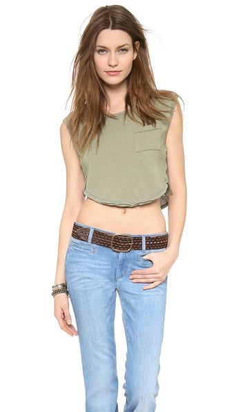 Free People Lou Crop Top