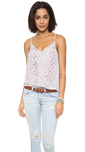 Free People Printed Miles Away Tank