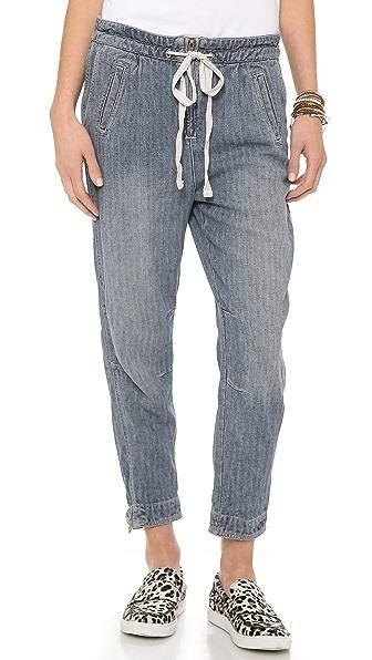 Free People Easy Harem Jeans