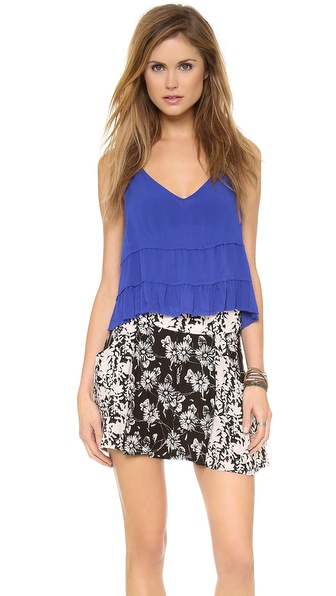 Free People Crinkle Breeze Trapeze Camisole