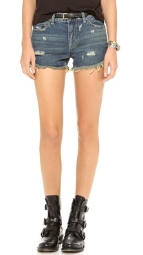 Free People Dophin Hem Shorts