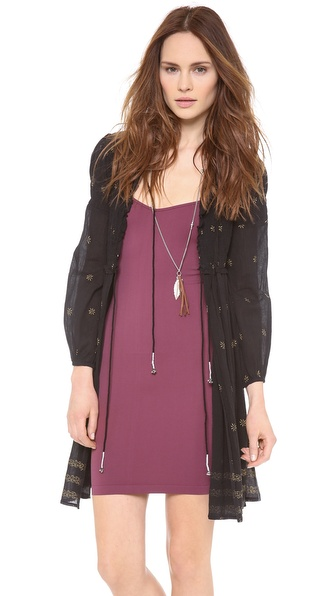 Free People Shyanti Smocked Robe