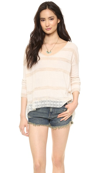 Free People Pebble Dash Pullover