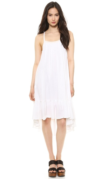 Free People Solid Gauze Dress