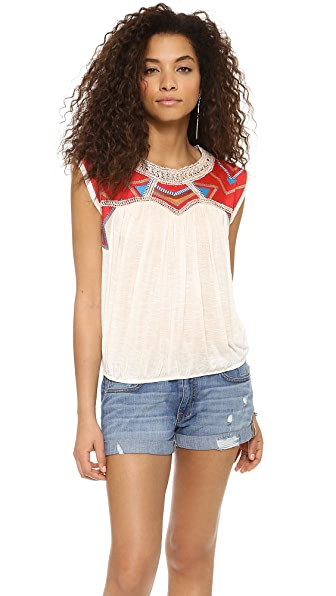 Free People Tribal Disco Tee