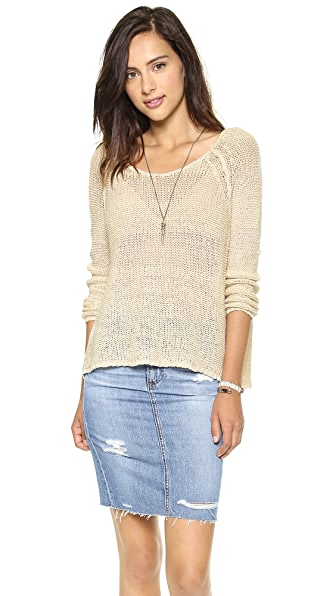Free People Nickels and Dimes Pullover