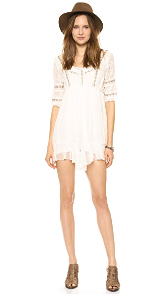 Free People Little Dot Mini Dress