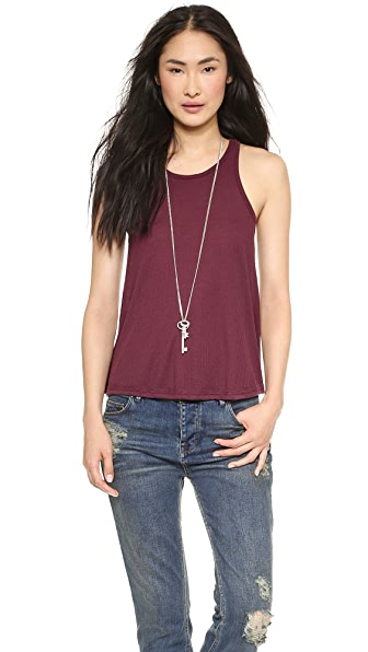 Free People Slub Long Beach Tank