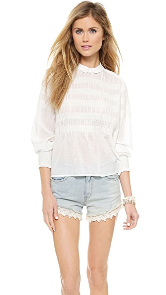 Free People Knock on Wood Top