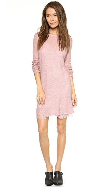 Free People Jane Eyre Twofer Sweater Dress