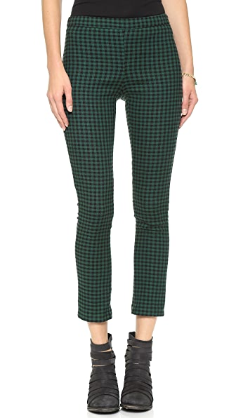 Free People High Rise Menswear Crop Pants
