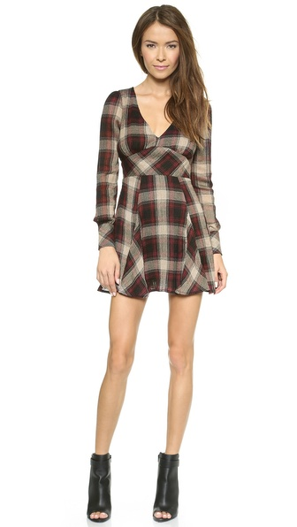 Free People Teen Spirit Mini Dress