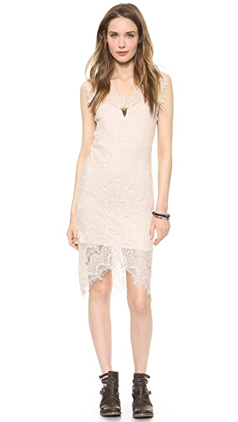 Free People Peek A Boo Slip Dress