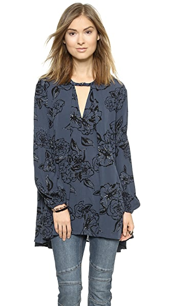 Free People Tree Swing Top - Night Combo