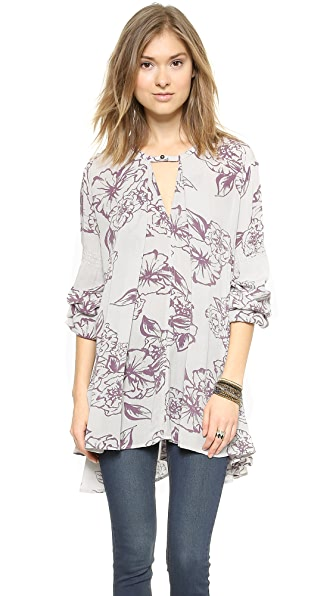 Free People Tree Swing Top - Cloud Combo