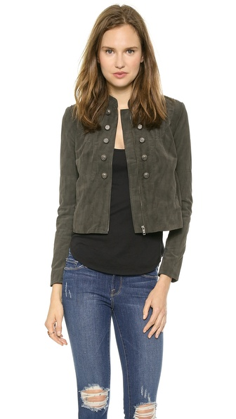 Free People Femme Band Jacket