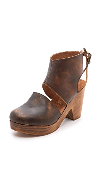 Free People Desert Gold Booties