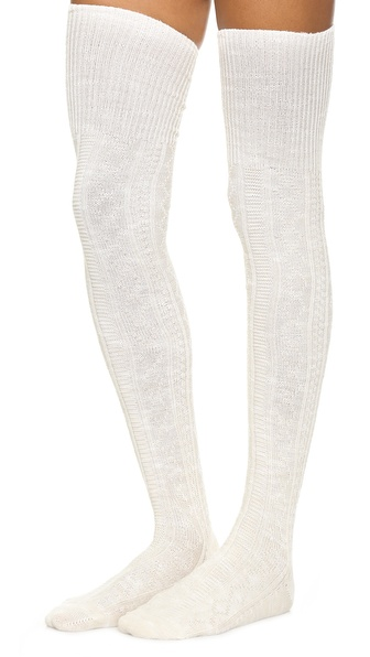 Free People Pioneer Thigh High Socks