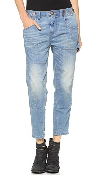 Free People Boyfriend Jeans