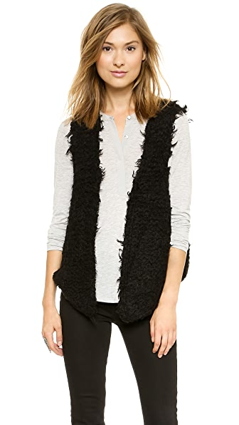Free People Fur Away Vest