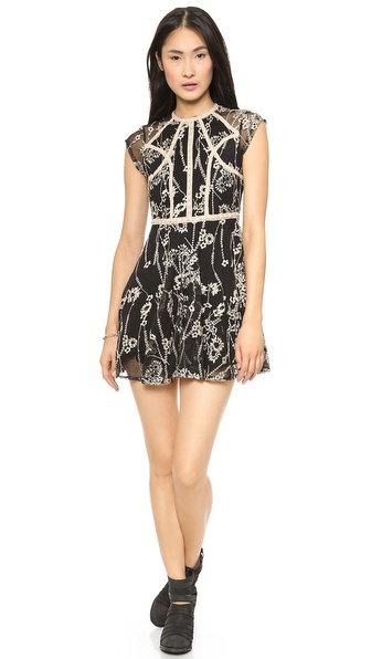 Free People Laurel Lace Dress