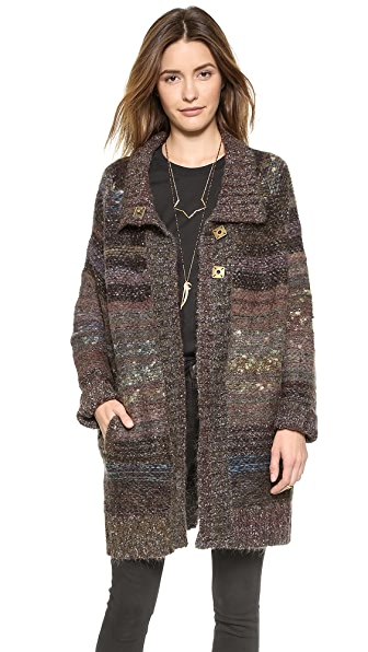 Free People Poncho Cardigan