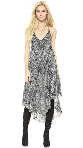 Shop Free People online and buy Free People Knot For You Slip - Raven Combo dress online