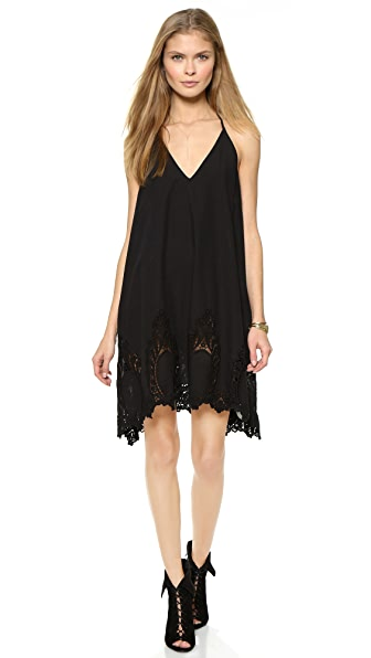 Shop Free People online and buy Free People Easy Livin' Dress Black dress online