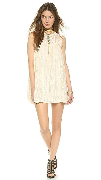 Kupi Free People haljinu online i raspordaja za kupiti Free People Tu Es La Mini Dress Antique online