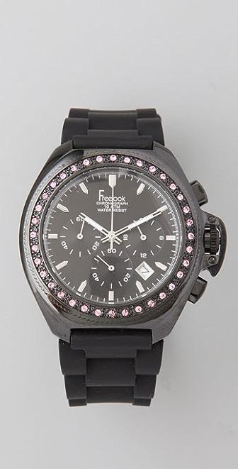 Freelook Aquamarina Watch with Swarovski Crystals